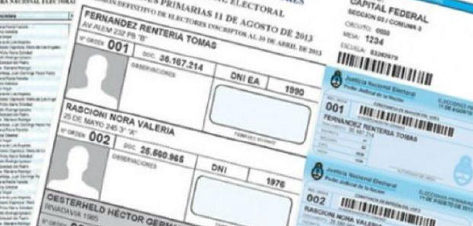 ELECCIONES 2013: ALGUNAS DUDAS