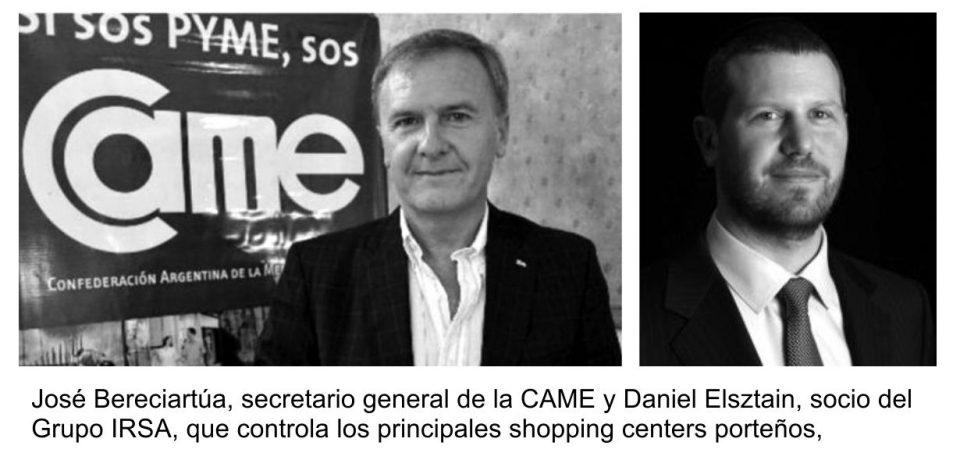 CAME/FECOBA VS IRSA POR EL DESCANSO DOMINICAL EN SHOPINGS