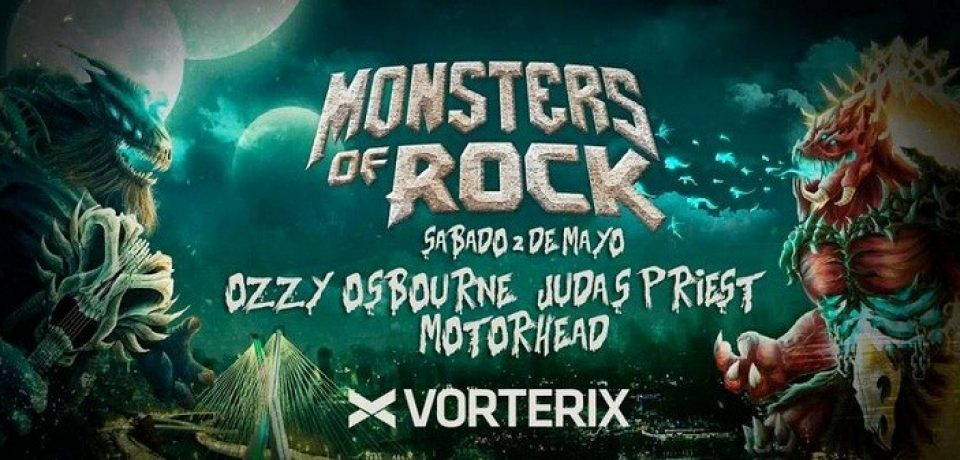 «MONSTERS OF ROCK» REGRESA A BUENOS AIRES
