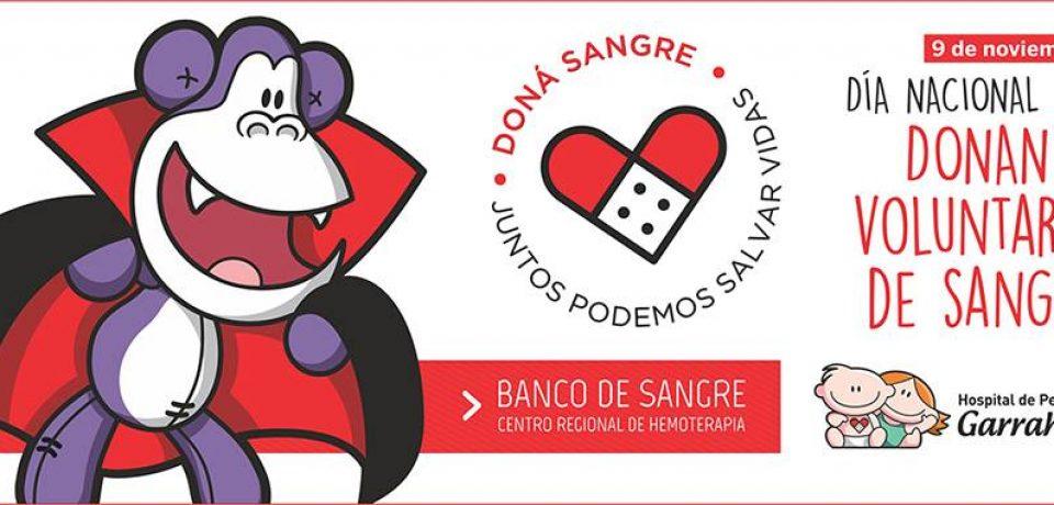 9 DE NOVIEMBRE; DÍA NACIONAL DEL DONANTE DE SANGRE