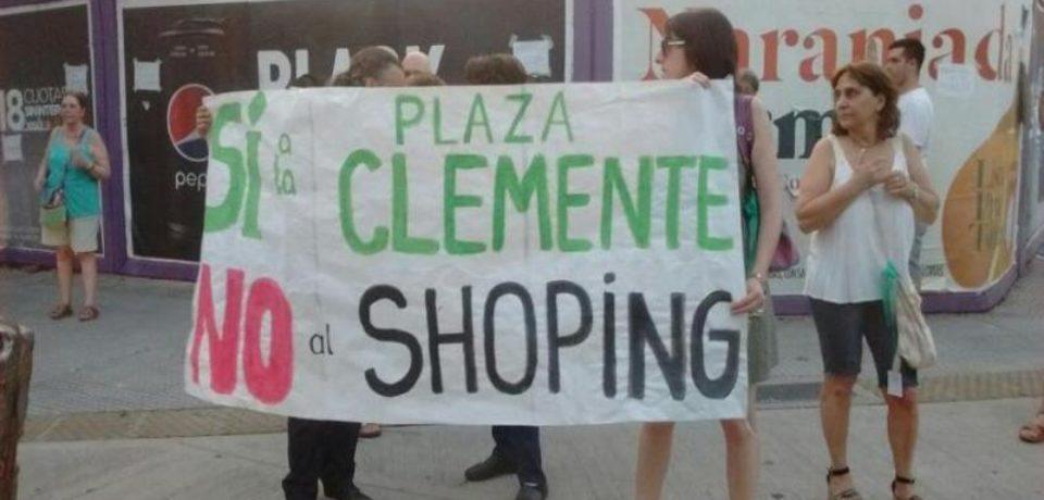 La Plaza Clemente va tomando forma
