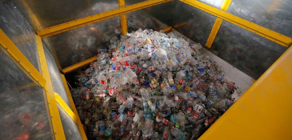 Nueva planta para recuperar reciclables.