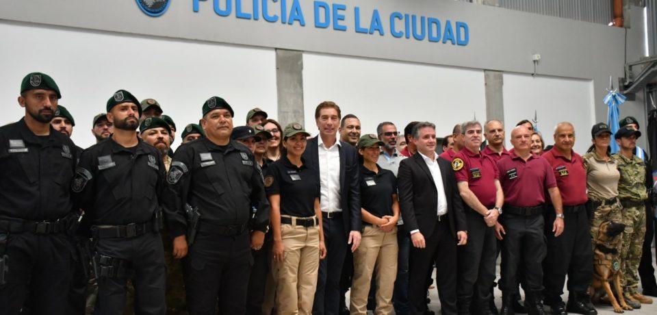 Nueva sede de las Fuerzas Especiales de la Policía de la Ciudad