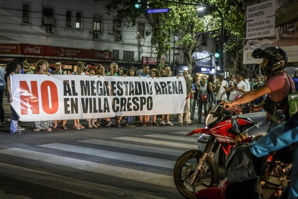"""Movistar Arena: """"Un negocio de la inmobiliaria de Larreta"""""""
