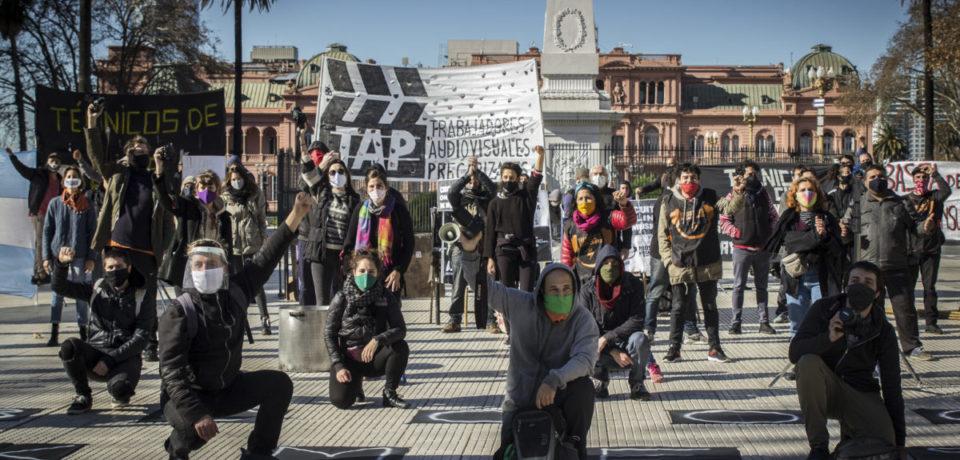 «No hay respuesta para los trabajadores de la cultura»
